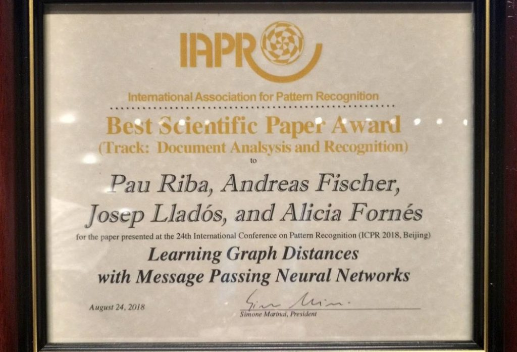 Best Scientific Paper Award